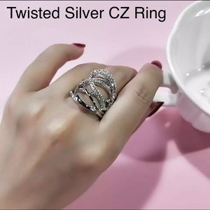 Twisted Multi layer Ring